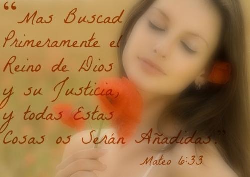Mateo 6-33