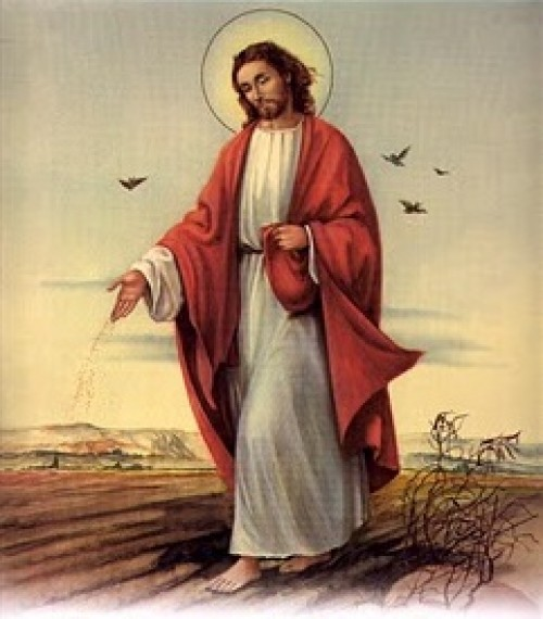 SEMBRADOR JESUS e1359224530898 Imágenes de Jesús Sembrador