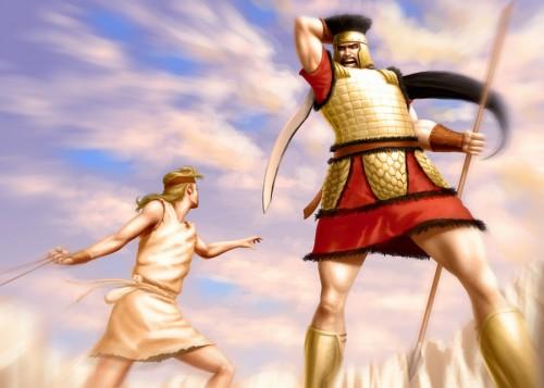 david vs goliath e1357668060417 Imágenes de David contra Goliat