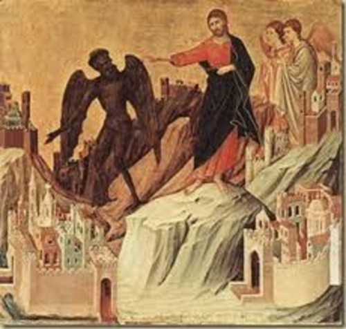 Jesus expulsando a los demonios