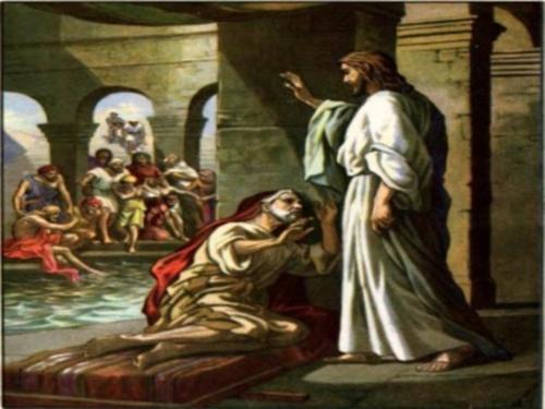 jesus sana un hombre en betesda jn 5 Jesús cura al paralitico