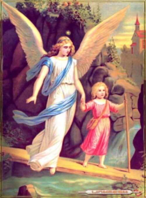 la nina y el angel Imágenes de ángeles protectores