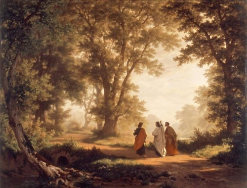 Camino a Emaus Zuend.preview Imagenes de Jesús en el Camino de Emaus