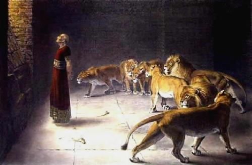 Daniel el Profeta Imágenes de Daniel en el Foso de los Leones