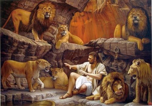 Daniel and the lions by Raipun Imágenes de Daniel en el Foso de los Leones