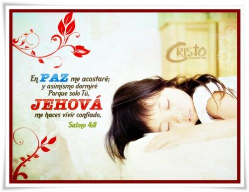 En paz me acostare y as mismo dormir imagenes de jesus for En paz me acostare
