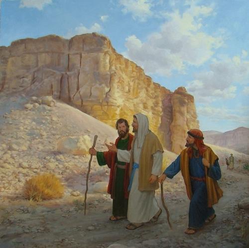 Road to Emaus kencorbettart.com  Imagenes de Jesús en el Camino de Emaus