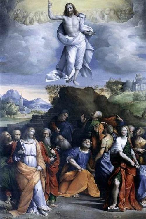 ascension jesus e1360711889387 Imágenes de Jesús ascendiendo al Cielo