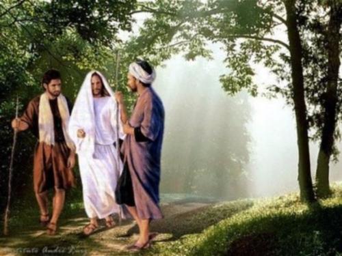 camino de emaus Imagenes de Jesús en el Camino de Emaus