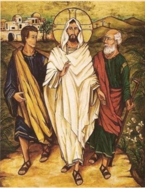 emaus 1 Imagenes de Jesús en el Camino de Emaus