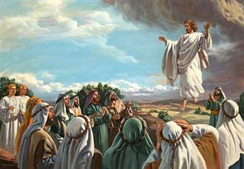 jesus ascension e1360711825420 Imágenes de Jesús ascendiendo al Cielo