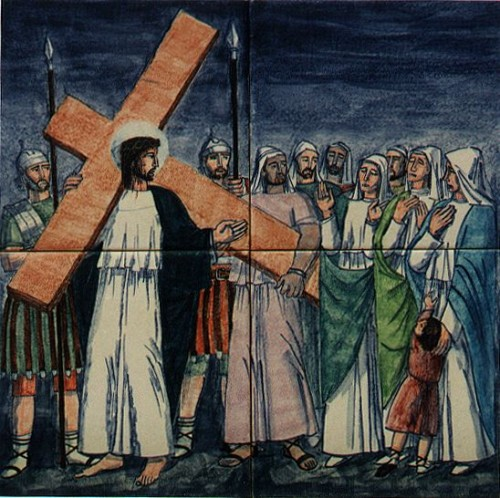 08 JES1 e1364254264399 Octava Estación: Jesús consuela a las hijas de Jerusalén