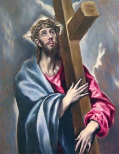 CRUZ J1 Segunda Estación: Jesús carga la Cruz