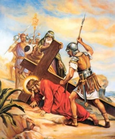 Notitarde Jesús cae por segunda vez