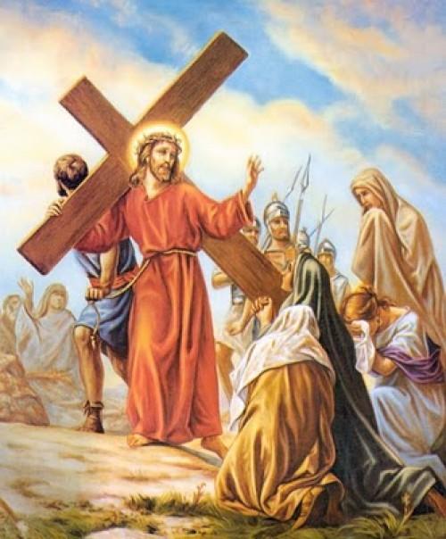 Jesús consuela a las piadosas mujeres e1364254231571 Octava Estación: Jesús consuela a las hijas de Jerusalén