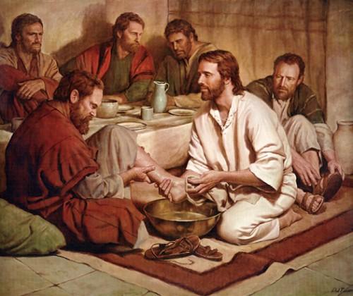 Jesus LavadoPies e1364445679398 Imágenes de Jesús lavando los pies de sus discípulos