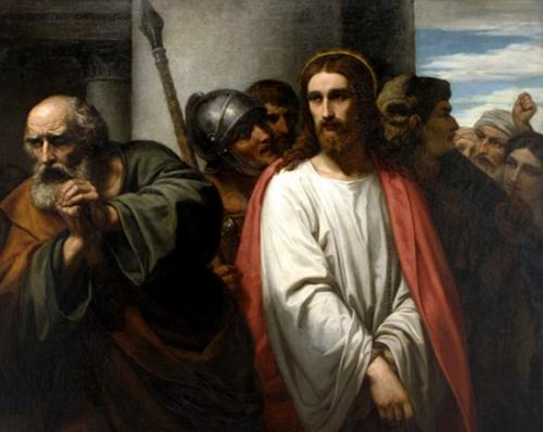 Resultado de imagen de Pedro niega a Cristo
