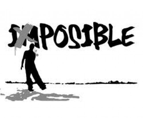 cuando enfrentes lo imposible