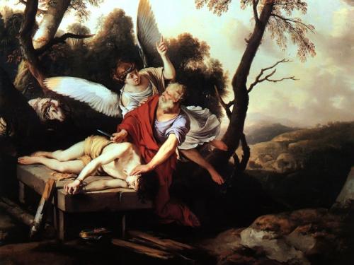Imágenes de Abraham e Isaac