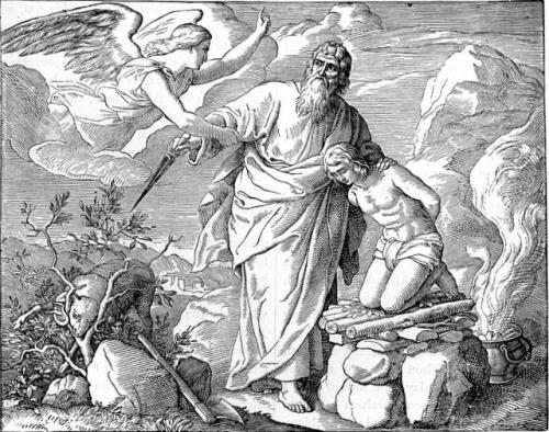 Northrop Abraham Offers Isaac Imágenes de Abraham e Isaac