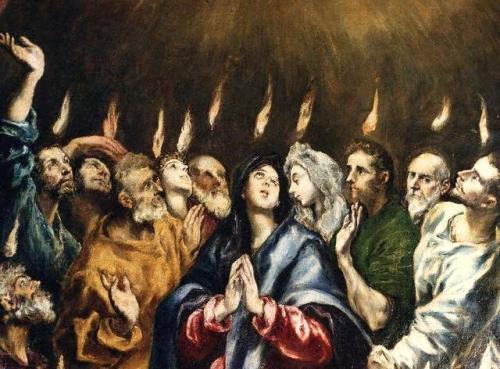 Pentecostés El Greco Imágenes del Pentecostés