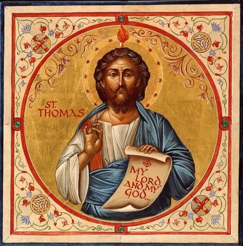 St Thomas icon Imágenes de Santo Tomas El Apóstol