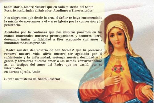 oracion a la Virgen Maria