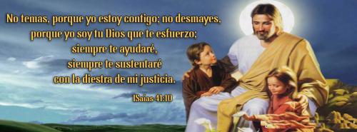 ISaias 41 10 PORTADA TIMELINE PARA FACEBOOK Isaías 41:10 No temas porque yo estoy contigo