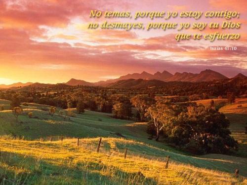iglesia fp07 Isaías 41:10 No temas porque yo estoy contigo