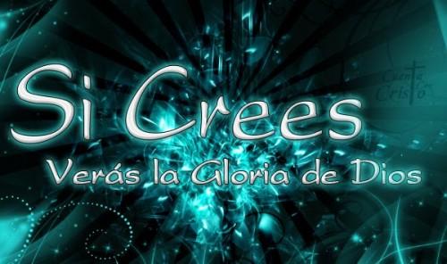 si crees veras la gloria de Dios e1369518696838 La Gloria de Dios  Ricardo Montaner