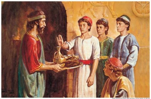 Sadrac Mesac y Abednego