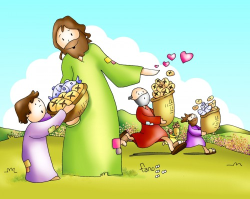 fano milagro de los panes y e1374368157684 Nada Faltara con Jesus