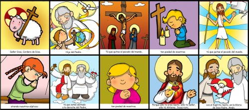 oracion gloria 02 e1378354713664 Oración de Gloria a Dios, Hijo y Espíritu santo.
