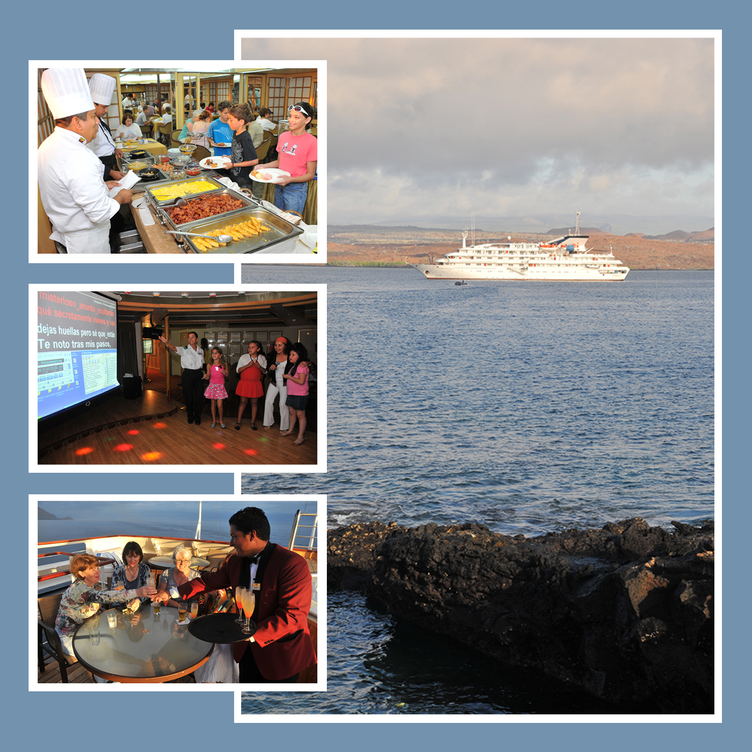 galapagos-island-cruises-picture-collage