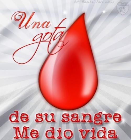 La sangre de cristo