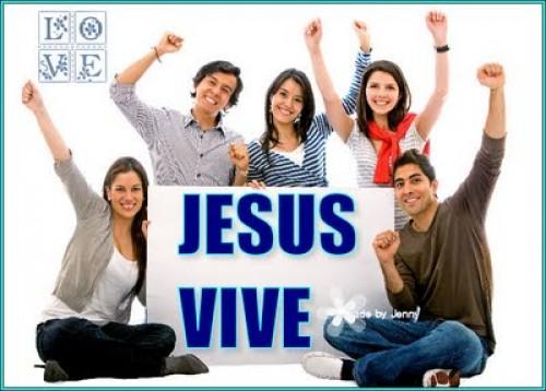 Jesús vive y reina