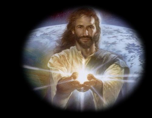 JESUS COM LUZ!