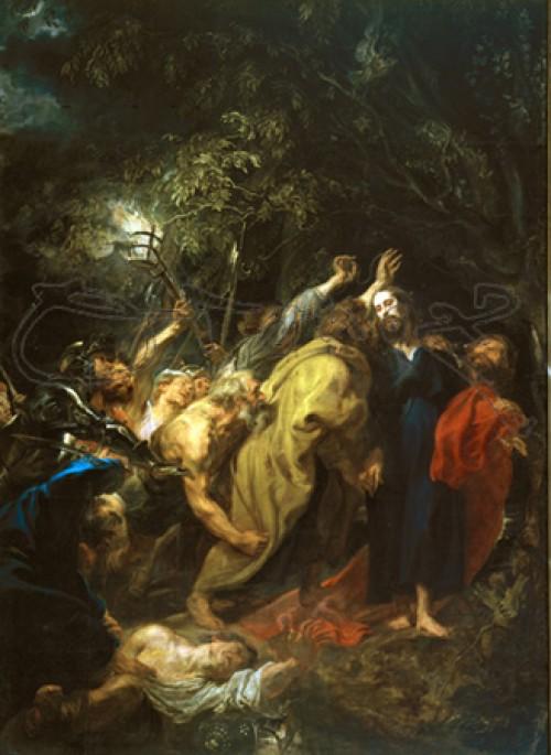 judas besando a Jesus