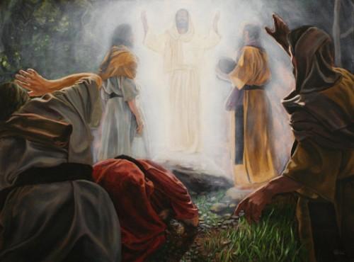 tranfiguracion de Jesus