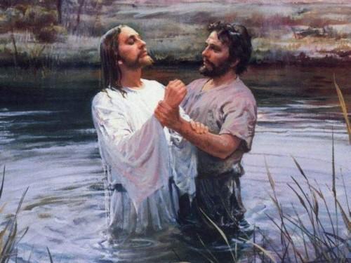 El Bautismo de Jesus