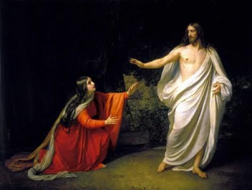 MARIA MAGDALENA CON JESUS