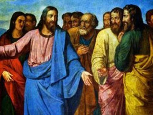 jesus y sus dicipulos
