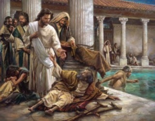 Jesus cura al paralitico