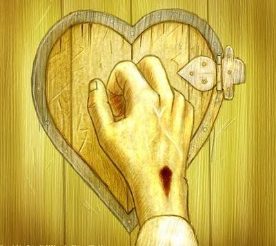jesus puerta corazon