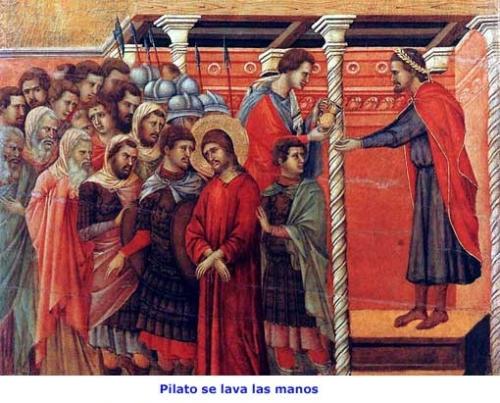 Jesus es condenado a muerte