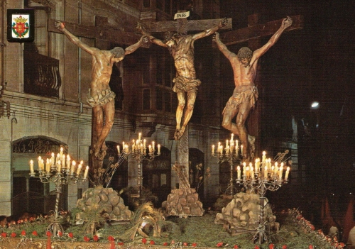 Jesus y los dos ladrones