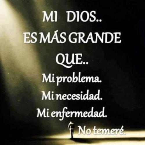 mi Dios es grande