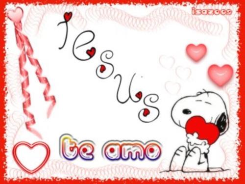 Jesus te amo