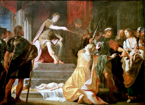 el juicio de Salomon