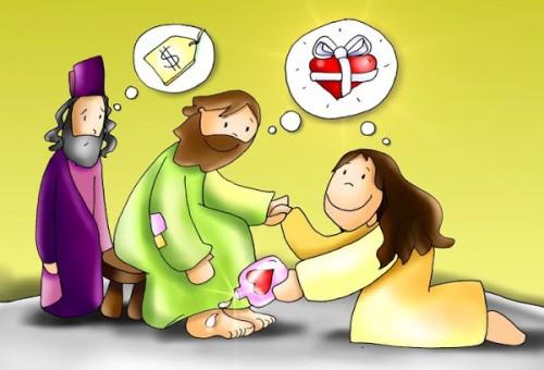 Perfume a tus pies-Reflexión cristiana | Imagenes de Jesus - Fotos ...